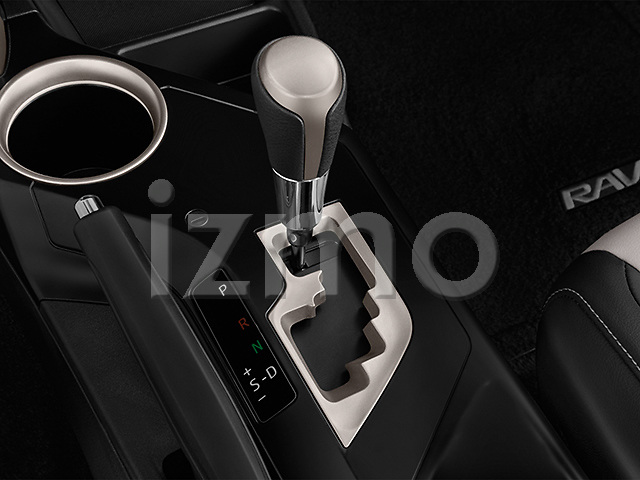 Gear shift detail view of a