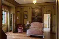Europe/France/Aquitaine/64/Pyrénées-Atlantiques/Pays-Basque/Cambo-les-Bains: La Villa Arnaga, Musée Edmond Rostand _ La Chambre de Rosemonde