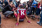 Nils POLITT from Germany of Katusha-Alpecin finishing 7th after the 2018 Paris-Roubaix race, Velodrome Roubaix, France, 8 April 2018, Photo by Thomas van Bracht / PelotonPhotos.com | All photos usage must carry mandatory copyright credit (Peloton Photos | Thomas van Bracht)