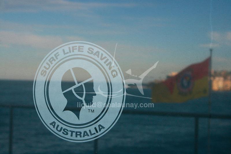 Surf Life Saving head quater at the Bondi Icebergs swimming club, Bondi Beach, Sydney in Australia.