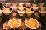 Food Display, Da Rocca Restaurant, Florence, Tuscany, Europe