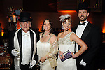From left: Bill and Stacey Ensell with Chelley and Terry Weaver at the SPA's Forever Paris Gala at the Wortham Theater Saturday March 29, 2014.(Dave Rossman photo)