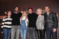 BARBARA SCHULZ, LANNICK GAUTRY, ANNE MARIVIN, OLIVIER CASAS, MARIE-CHRISTINE ADAM ET MEDI SADOUN - 20EME FESTIVAL INTERNATIONAL DU FILM DE COMEDIE DE L'ALPE D'HUEZ 2017