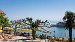 DEU, Deutschland, Baden-Wuerttemberg, Meersburg am Bodensee: Cafe, Restaurant am See mit Seeterrassen | DEU, Germany, Baden-Wuerttemberg, Meersburg at Lake Constance: restaurant, cafe with seaside terrace