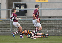 CAI vs RBAI | Tuesday 3rd March 2015<br /> <br /> Cduring the 2015 Ulster Schools Cup Semi-Final between Coleraine Inst and RBAI at the Kingspan Stadium, Ravenhill Park, Belfast, Northern Ireland.<br /> <br /> Picture credit: John Dickson / DICKSONDIGITAL