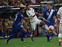 Diego Reyes de Mexico ,durante partido entre las selecciones de Mexico y Guatemala  de la Copa Oro CONCACAF 2015. Estadio de la Universidad de Arizona.<br /> Phoenix Arizona a 12 de Julio 2015.