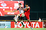 Hang Yuen FC (TPE) vs Hwaepul SC (PRK) during the AFC Cup 2018 Group I match at Fujen University Stadium on 25 April 2018, in New Taipei City, Taiwan. Photo by Chien-An Tai / Power Sport Images