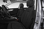 Front seat view of 2017 Audi A4 Premium 4 Door Sedan front seat car photos