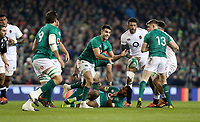 Saturday 2nd February 2019 | Ireland vs England<br /> <br /> Conor Murray during the opening Guinness 6 Nations clash between Ireland and England at the Aviva Stadium, Lansdowne Road, Dublin, Ireland.  Photo by John Dickson / DICKSONDIGITAL