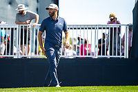 14th March 2021; Ponte Vedra Beach, Florida, USA;  Dustin Johnson of the United States walks to the 18th hole during the final round of THE PLAYERS Championship on March 14, 2021 at TPC Sawgrass Stadium Course in Ponte Vedra Beach, Fl.