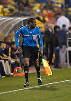 24 APRIL 2010:  Assistant Referee Steven DePiero during the Real Salt Lake at Columbus Crew MLS soccer game in Columbus, Ohio. Columbus Crew defeated RSL 1-0 on April 24, 2010.