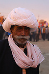 This Rajasthani gentleman is one of the one hundred million pilgrims who attended the 2013 Maha Kumbh Mela