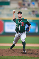 Great Lakes Loons relief pitcher Marcus Crescentini (51) delivers a pitch during the first game of a doubleheader against the Fort Wayne TinCaps on May 11, 2016 at Parkview Field in Fort Wayne, Indiana.  Great Lakes defeated Fort Wayne 3-0.  (Mike Janes/Four Seam Images)