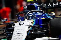 27th August 2021; Spa Francorchamps, Stavelot, Belgium: FIA F1 Grand Prix of Belgium, free practise:   06 LATIFI Nicholas can, Williams Racing F1 FW43B