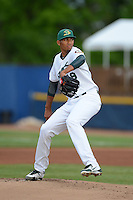 Beloit Snappers pitcher Michael Ynoa #19 during a game against the Cedar Rapids Kernels on May 22, 2013 at Pohlman Field in Beloit, Wisconsin.  Beloit defeated Cedar Rapids 7-6.  (Mike Janes/Four Seam Images)