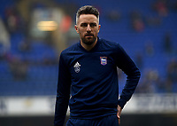 Ipswich Town's Cole Skuse during the pre-match warm-up <br /> <br /> Photographer Hannah Fountain/CameraSport<br /> <br /> The EFL Sky Bet Championship - Ipswich Town v Stoke City - Saturday 16th February 2019 - Portman Road - Ipswich<br /> <br /> World Copyright © 2019 CameraSport. All rights reserved. 43 Linden Ave. Countesthorpe. Leicester. England. LE8 5PG - Tel: +44 (0) 116 277 4147 - admin@camerasport.com - www.camerasport.com