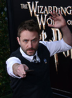 Chris Hardwick @ the VIP opening for The Wizarding World of Harry Potter held @ the Universal Studiio Hollywood.<br /> April 5, 2016