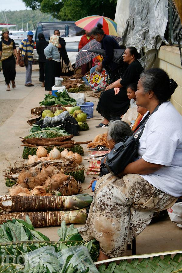 Utukalongalu Market in Neiafu, Tonga