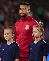 Carson, CA - Sunday January 28, 2018: Justin Morrow during an international friendly between the men's national teams of the United States (USA) and Bosnia and Herzegovina (BIH) at the StubHub Center.