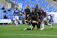 George Puscas of Reading scores the first goal during Reading vs Watford, Sky Bet EFL Championship Football at the Madejski Stadium on 3rd October 2020