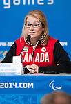 Catherine Gosselin-Despres, Sochi 2014.<br />