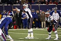 Quarterback Tom Brady (Patriots)<br /> New York Giants vs. New England Patriots<br /> *** Local Caption *** Foto ist honorarpflichtig! zzgl. gesetzl. MwSt. Auf Anfrage in hoeherer Qualitaet/Aufloesung. Belegexemplar an: Marc Schueler, Am Ziegelfalltor 4, 64625 Bensheim, Tel. +49 (0) 6251 86 96 134, www.gameday-mediaservices.de. Email: marc.schueler@gameday-mediaservices.de, Bankverbindung: Volksbank Bergstrasse, Kto.: 151297, BLZ: 50960101