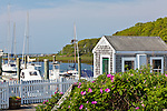 Saquatucket Harbor in Harwich, Cape Cod, MA, USA