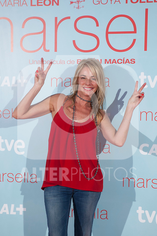 Belen Rueda poses at `Marsella´ film premiere photocall at Capital cinema in Madrid, Spain. July 17, 2014. (ALTERPHOTOS/Victor Blanco)