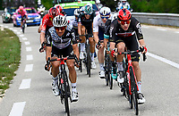 8th July 2021; Nimes, France; HENAO Sergio Luis (COL) of TEAM QHUBEKA NEXTHASH, SWEENY Harrison (AUS) of LOTTO SOUDAL during stage 12 of the 108th edition of the 2021 Tour de France cycling race, a stage of 159,4 kms between Saint-Paul-Trois-Chateaux and Nimes.