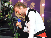 Kaiser Chiefslive at the Pub in the Park's Drive In Garden Party at Knebworth Park, Hertfordshire on Saturday 12th September 2020<br /> <br /> Photo by Keith Mayhew