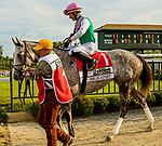 SEPT 25, 2021: Obligatory post parade for the Gr.1 Cotillion Stakes, for 3-year old fillies, going 1 1/16mile, at Parx Racing, Bensalem, PA. Sue Kawczynski/Eclipse Sportswire/CSM