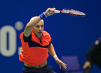 Rotterdam,Netherlands, December 15, 2015,  Topsport Centrum, Lotto NK Tennis, Vincent van den Honert (NED)<br /> Photo: Tennisimages/Henk Koster