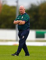 11th September 2021; Galway Greyhound Stadium, Connacht, Galway, Ireland; Pre-season rugby union, Connacht versus London irish; General view of London Irish Director of Rugby, Declan Kidney