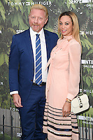 Boris and Lily Becker<br /> arrives for the Serpentine Gallery Summer Party 2016, Hyde Park, London.<br /> <br /> <br /> ©Ash Knotek  D3138  06/07/2016