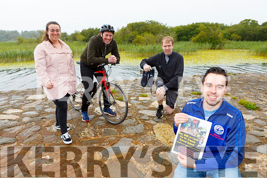 Conor Brosnan Chairman of Killarney Macra with Emma Cronin, Ger Foley, Edmond McSweeney launching the Killarney Macra Run, walk or cycle for St Francis Special School in Killarney on monday