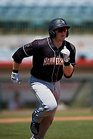 Jupiter Hammerheads Gunnar Schubert (5) during a Florida State League game against the Florida Fire Frogs on April 11, 2019 at Osceola County Stadium in Kissimmee, Florida.  Jupiter defeated Florida 2-0.  (Mike Janes/Four Seam Images)