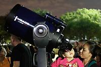 27.07.2018 - Eclipse lunar no Planetário do Ibirapuera em SP