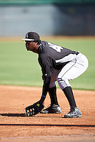 Chicago White Sox Franklin Reyes (40) during an Instructional League game against the San Francisco Giants on October 10, 2016 at the Camelback Ranch Complex in Glendale, Arizona.  (Mike Janes/Four Seam Images)