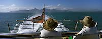 Océanie/Australie/Queensland/Cairns: Sur le bateau pour les Iles Douglas et les Iles Low sur la grande Barriere de Corail