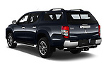 Car pictures of rear three quarter view of 2020 Mitsubishi L200 Intense-Edition-One 4 Door Pick-up Angular Rear