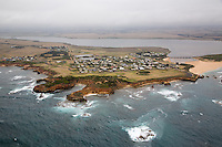 Aerial view of Princetown, Great Ocean Road