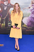 "Poppy Lee Friar<br /> at the premiere of ""Alice Through the Looking Glass"" held at the Odeon Leicester Square, London<br /> <br /> <br /> ©Ash Knotek  D3117  10/05/2016"