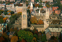 Yale University aerial view New Haven CT
