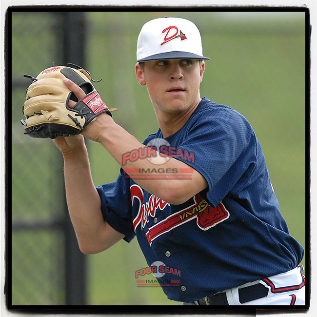 #OTD On This Day, July 14, 2006, pitcher Kris Medlen of the Danville Braves, the Atlanta Braves' affiliate of the rookie Appalachian League, played in a game at Dan Daniel Park in Danville, Va. Medlen later played in the majors for eight years for the Atlanta Braves, Kansas City Royals and Arizona Diamondbacks. He retired in 2018. (Tom Priddy/Four Seam Images) #MiLB #OnThisDay #MissingBaseball #nobaseball #stayathome #minorleagues #minorleaguebaseball #Baseball #AppyLeague #AloneTogether