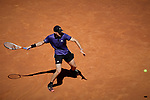 Dominic Thiem during the Mutua Madrid Open Masters match on day eight at Caja Magica in Madrid, Spain.May 11, 2019. (ALTERPHOTOS/A. Perez Meca)
