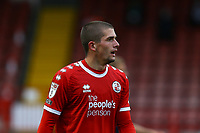 Max Watters of Crawley Town during Crawley Town vs Morecambe, Sky Bet EFL League 2 Football at Broadfield Stadium on 17th October 2020