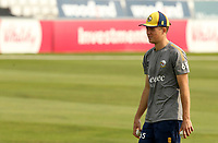 Ben Allison of Essex warms up prior to Essex Eagles vs Surrey, Vitality Blast T20 Cricket at The Cloudfm County Ground on 11th September 2020