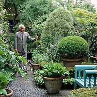 John Stefanidis' London Garden