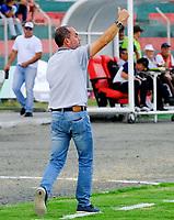 TULUA-COLOMBIA, 02-02-2020: Cortulua y Cartagena F.C., durante partido por la fecha 1 del Torneo BetPlay DIMAYOR I 2020 en el estadio Doce de Octubre de la ciudad de Tuluá. / Cortulua and Cartagena F.C., during a match for the 1st date of the BetPlay DIMAYOR I 2020 tournament at the Doce de Octubre de stadium in Tulua city. / Photos: VizzorImage / Juan José Horta / Cont.