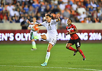 Houston, TX. - February 19, 2016: The U.S. Women's National team defeat Trinidad & Tobago 5-0 in CONCACAF Women's Olympic Qualifying at BBVA Compass Stadium.
